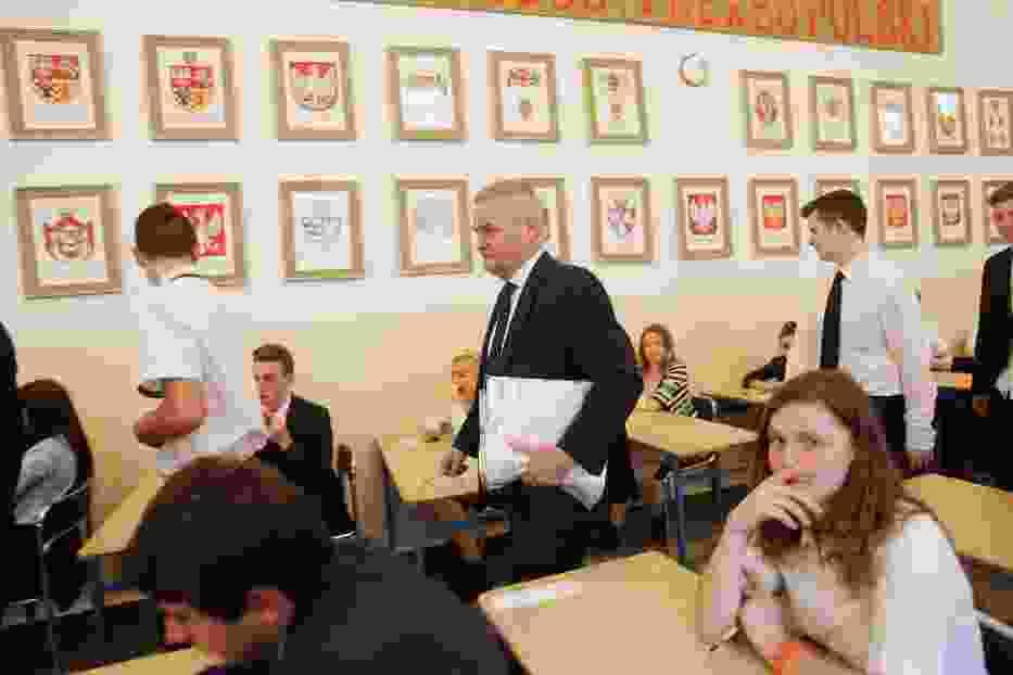 Egzamin gimnazjalny w Legnicy