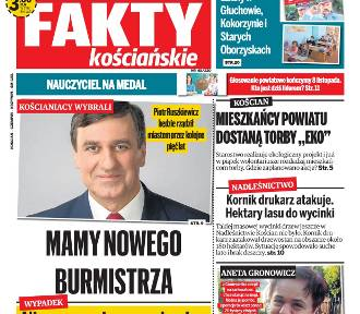 """Nowe """"Fakty Kościańskie"""" już w środę 7 listopada [ZAPOWIEDŹ]"""