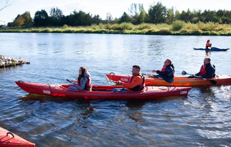 Rzeka Pilica - można wybrać się na spacer wzdłuż jej malowniczych brzegów (gm