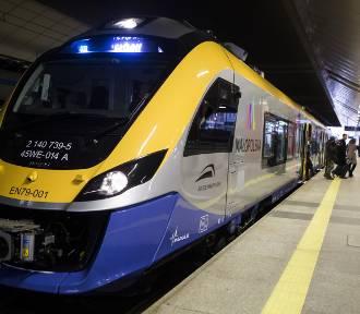 W niedzielę Kraków i Tarnów połączą nowoczesne pociągi Impuls [ZDJĘCIA]