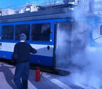 Kraków. Awaria tramwaju na os. Piastów [ZDJĘCIA]