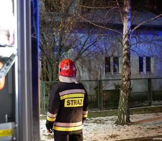 Kolejny pożar w Mątwach, tym razem przy Mikorzyńskiej [zdjęcia]