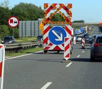 Utrudnienia na A4 pod Legnicą. Trwają prace remontowe