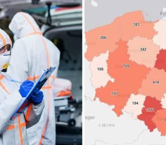 Koronawirus - w Śląskiem wciąż najwięcej nowych zakażeń. Gdzie dokładnie?
