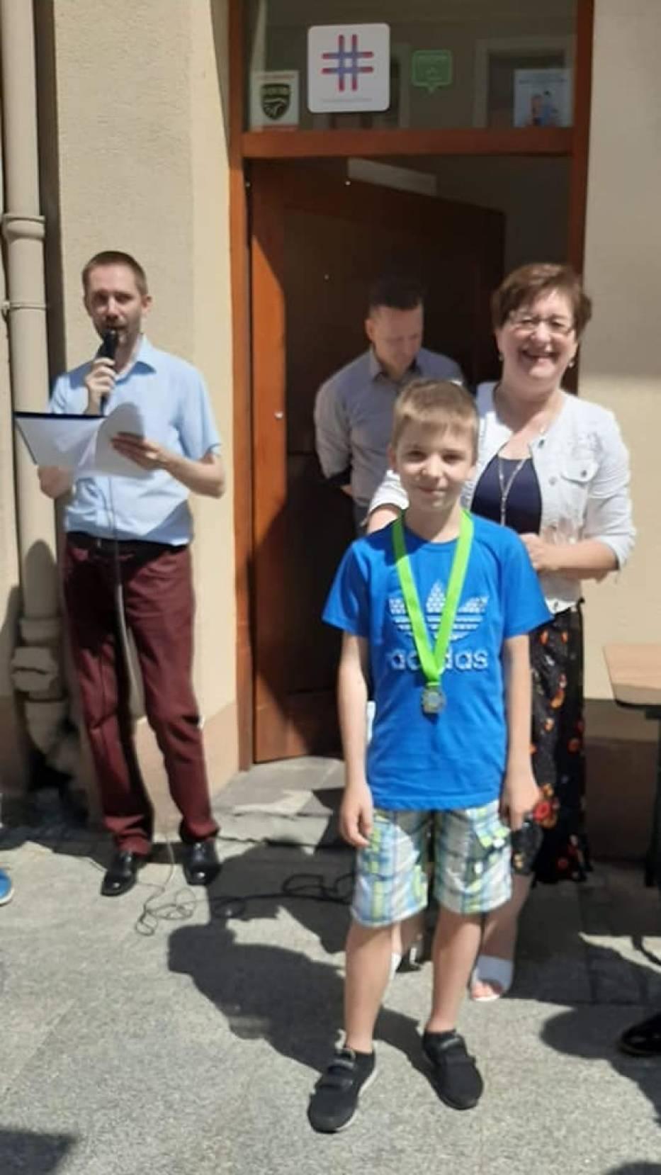 Bartosz Dolecki z Zespołu Szkół w Zbicznie uzyskał 3