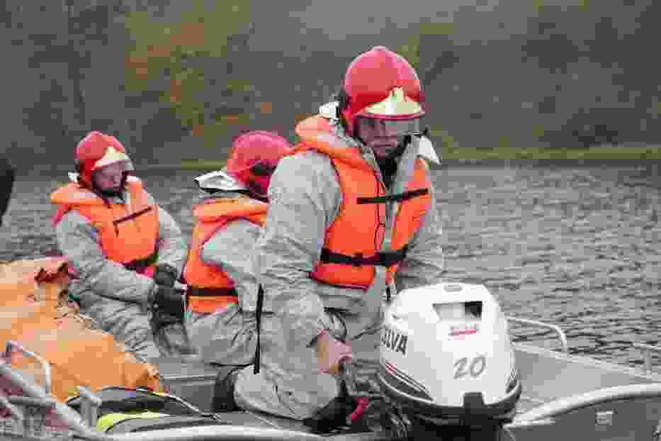 W piątek na zalewie wiślanym w rejonie Zarzeczewa przeprowadzono ćwiczenia z udziałem sił Krajowego Systemu Ratowniczo-Gaśniczego