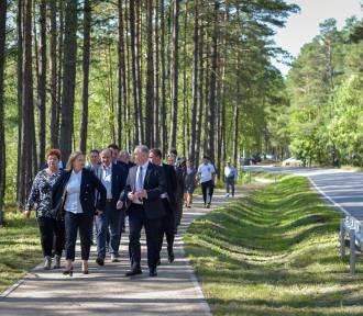 Nowa ścieżka rowerowa z Wiela w kierunku Lubni już służy mieszkańcom