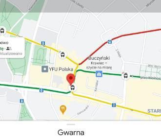Podróż tramwajem lub autobusem po Poznaniu można zaplanować w Google Maps