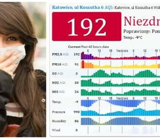 Smog w woj. śląskim - sprawdź jakość powietrza w swoim mieście [30 stycznia 2017]