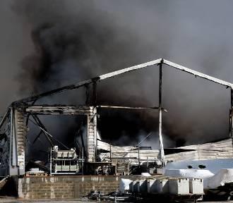 Ogromny pożar na Pomorzu! Płonie zakład produkujący łodzie