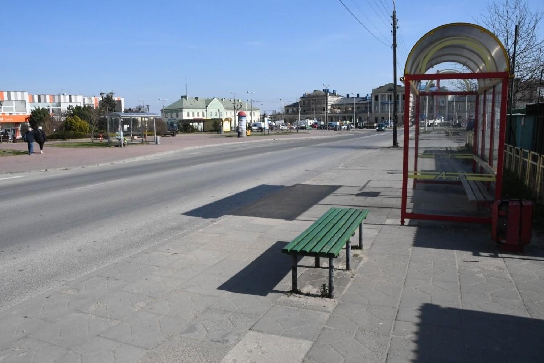 Skarżysko-Kamienna w czasach koronawirusa. Wyludnione ulice, mniej samochodów na drogach [ZDJĘCIA]