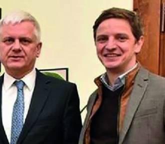 Burmistrz Kałużny rozmawiał z dyrektorem Teatru Muzycznego o budowie nowej sali koncertowej