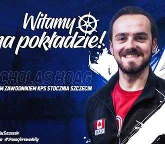 Kanadyjczyk Nicholas Hoag dołącza do ekipy Stoczni Szczecin
