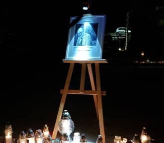 Międzybórz: Znicz ku pamięci prezydenta Pawła Adamowicza