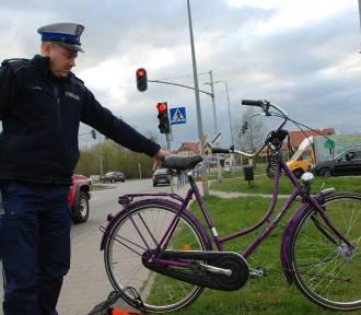 Kowale: Potrącenie rowerzystki