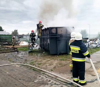 Pożar na terenie zakładu produkcyjnego w Postominie ZDJĘCIA - 19.09.2021 r.