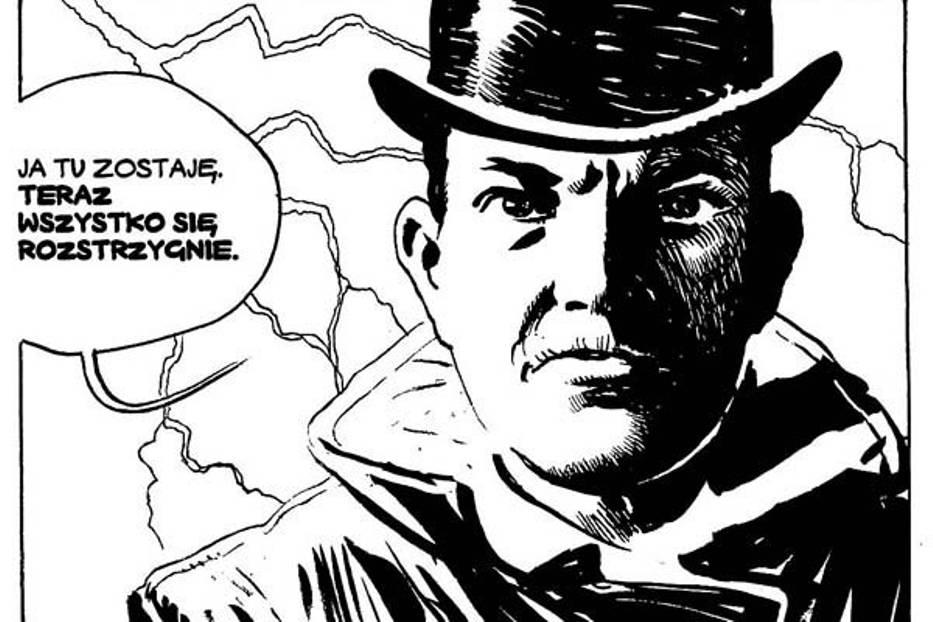 Korfantego w komiksie stworzył Krzysztof Wyrzykowski