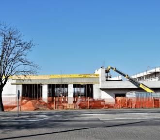 Trwa budowa remizy strażackiej i Centrum Zarządzania Kryzysowego. Byliśmy na budowie