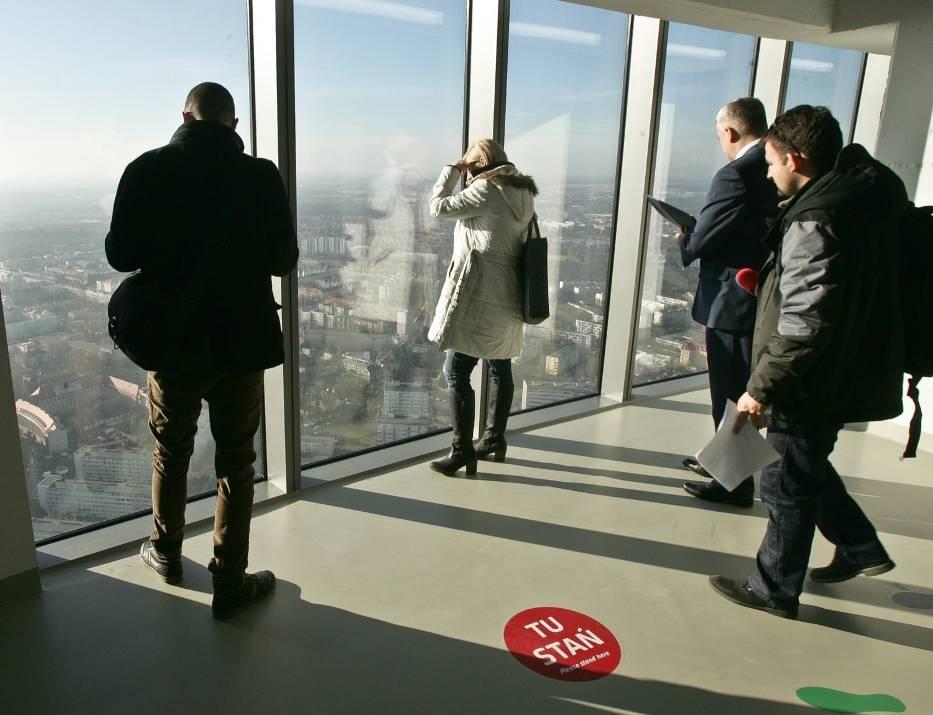 Sky Tower - punkt widokowy