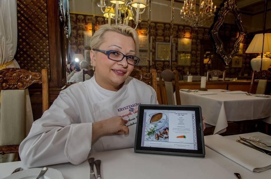 Maria Ożga i książka kucharska