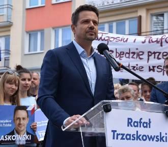 Rafał Trzaskowski w Trzciance [ZDJĘCIA]