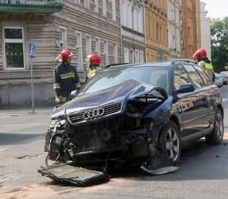 Wypadek na ulicy Lotniczej w Legnicy, to kolejny w tym miejscu
