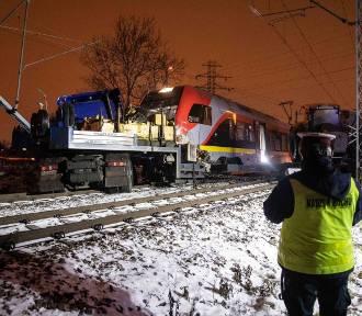 TIR zderzył się z pociągiem!