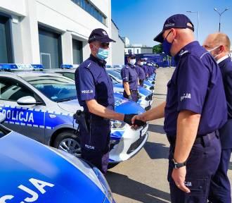 23 nowe radiowozy dla Kujawsko Pomorskiej policji za 2,2 mln zł [zdjęcia, wideo]