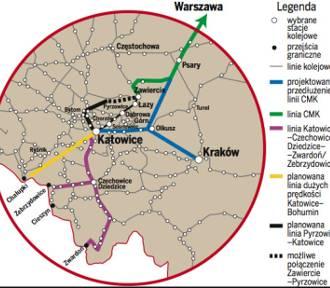 Olkusz. Powstanie wielka stacja przesiadkowa szybkiej kolei?