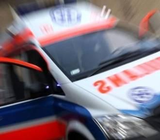 Wypadek busa w Kaliszu pod Kościerzyną. 7 osób rannych
