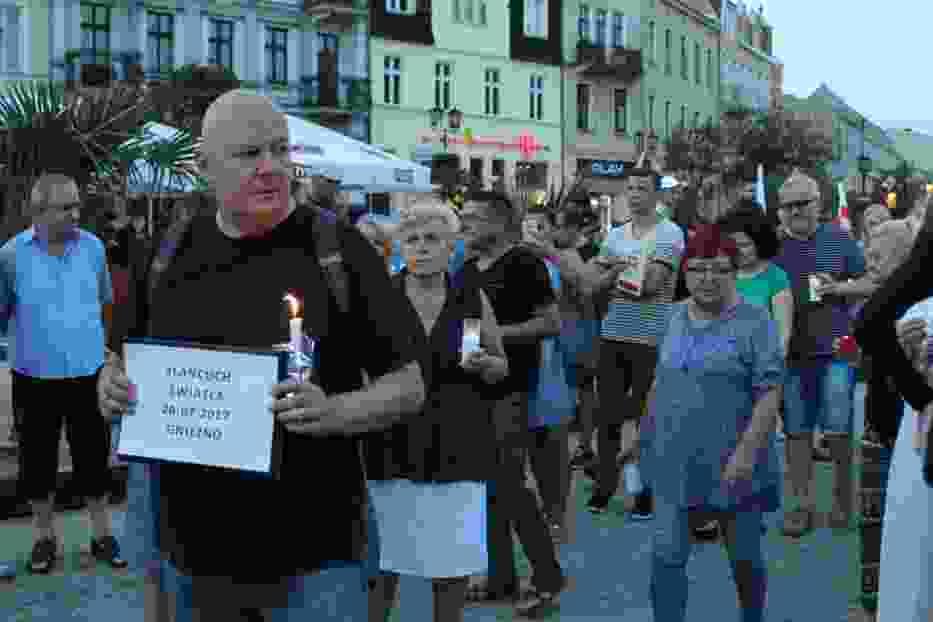 Organizator Łańcucha światła - Grzegorz Kamiński
