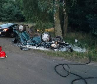 Śmiertelny wypadek w Zgierzynce [FOTO]