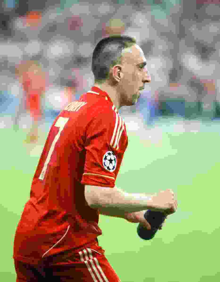 Czy Franck Ribery poprowadzi Bayern do zwycięstwa w Londynie?