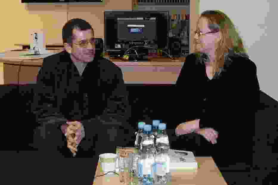 Paweł Pollak i Jolanta Świetlikowska