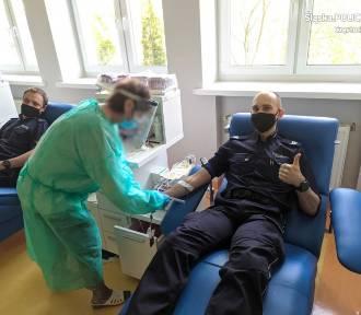 Policjant chorujący na białaczkę potrzebuje krwi. Pomóż