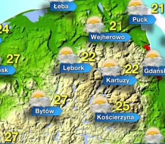 Prognoza pogody dla województwa pomorskiego na 20 lipca 2017 r. [wideo]