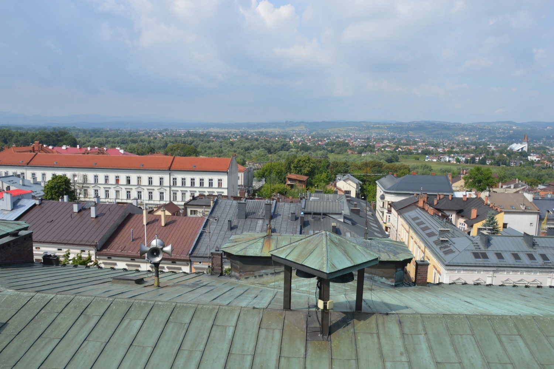 Widoki z wieży ratuszowej