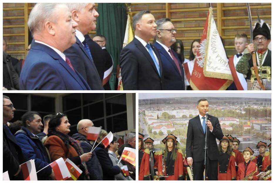 Prezydent Andrzej Duda w Kolnie. Wizyta 9.01.2020