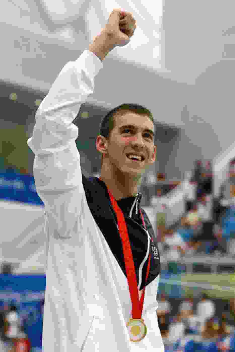 Michael Phelps z 7