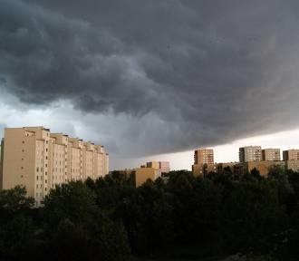 Ostrzeżenie burzowe I stopnia dla woj. lubelskiego