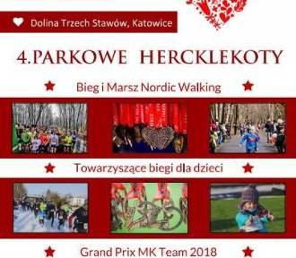 24 lutego IV Parkowe Hercklekoty, czyli walentynkowa impreza biegowa  Zapisy trwają