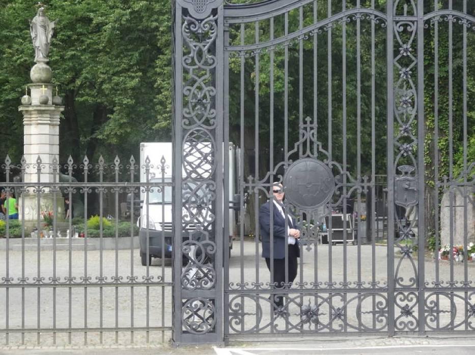 Cmentarz na Nowinie zamknięty