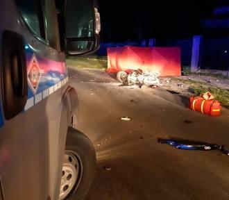 Tragedia w Łodzi na Górnej. Zginął motocyklista