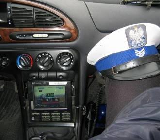 Kolizja drogowa pod Łowiczem. Młody kierowca ukarany mandatem