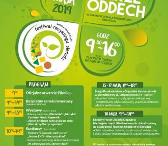 """""""Sieradz bierze oddech"""" i Festiwal Recyclingu w sobotę 18 maja"""
