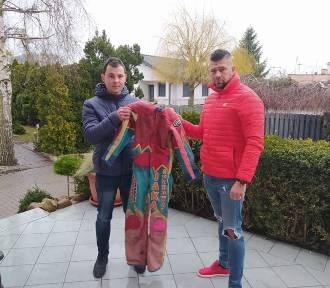 Piękny gest Emila Pulczyńskiego - oddał kevlar ś.p. brata na licytację dla Matildy!