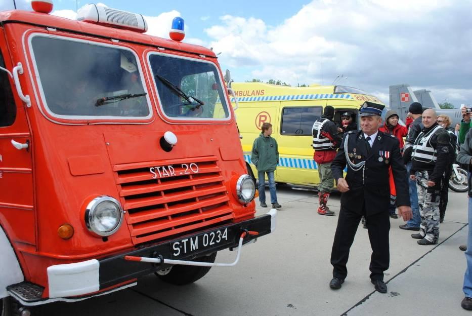Gaśniczy Star-20 z fabryki w Starachowicach