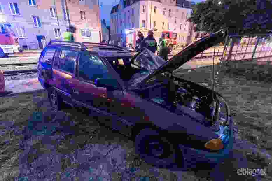 Wypadek w Elblągu