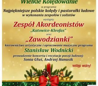 Koncert noworoczny w Zawodziu. W programie kolędy i pastorałki