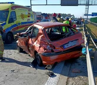 Groźny wypadek na A4 pod Wrocławiem. Autostrada jest zablokowana [ZDJĘCIA]